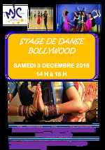 STAGE DE DANSE BOLLYWOOD