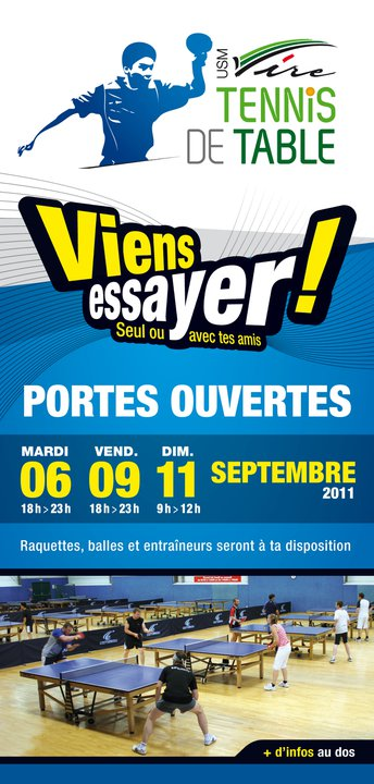 USMV Tennis de Table - Portes Ouvertes 2011