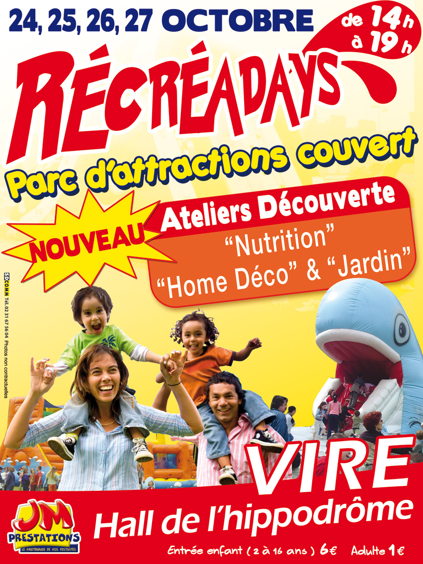 RECREADAYS 24, 25, 26 et 27 octobre 2009
