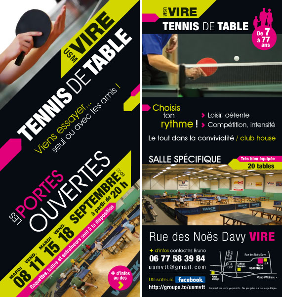 Portes ouvertes USM Vire Tennis de Table